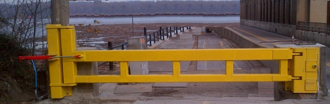 Portable Barrier Gate
